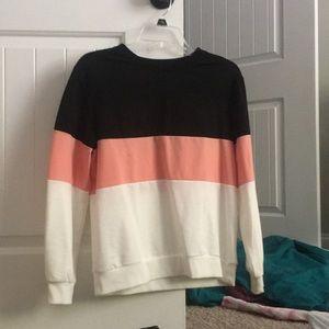 Shein colorful sweatshirt